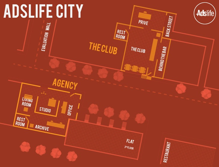 Adslife map